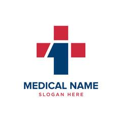Healthy care vector logo