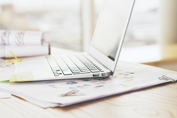 Laptop side