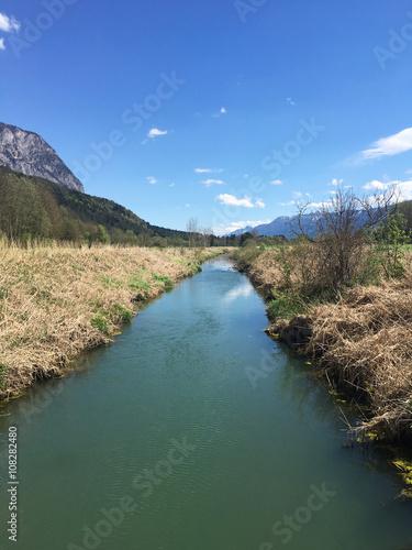 Landschaft mit einem Bach