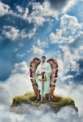 Warrior Angel with Sword