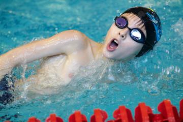 training in swimming