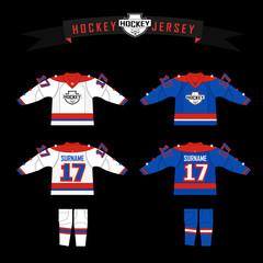 cutting fabric for hockey form