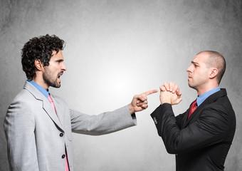 Boss firing an employee