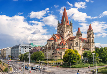 Saint Francis of Assisi Church, Vienna, Austria