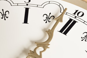 Clock Hand Close Up