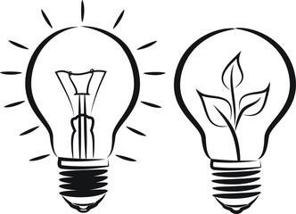 bulb - light and eco