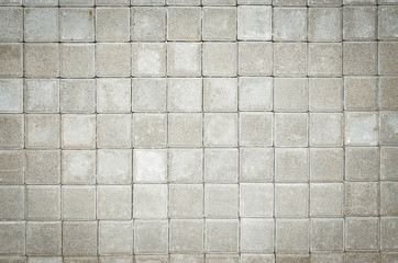 Texture of cement blocks wall, Used for textured and background