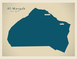 Modern Map - Al-Marqab LY