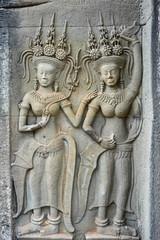 Donne Khmer di Angkor Wat