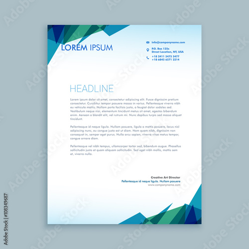 Creative abstract letterhead design stock image and royalty free creative abstract letterhead design spiritdancerdesigns Images