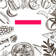 Food Seamless Pattern 2