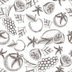 Fruity Seamless Pattern