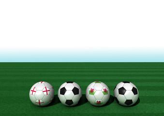EM 2016 Gruppe B England - Wales