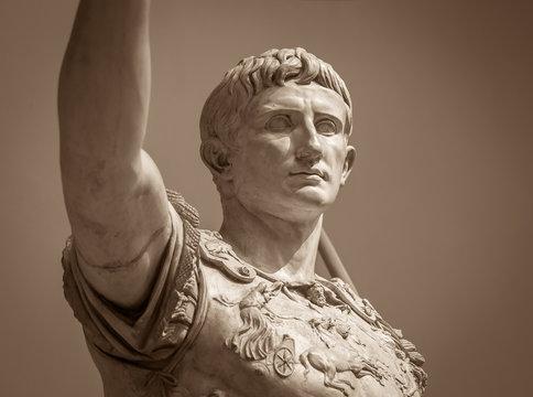 Statue of Roman Emperor Augustus
