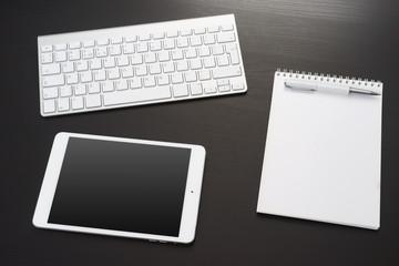 Digital tablet and computer keyboard