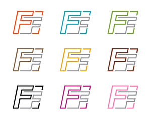 Double F Leter Logo