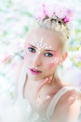 Kreatives Make-up, Event Make-up, Frühling