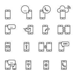 Smart Phone Icon,Vector EPS10.