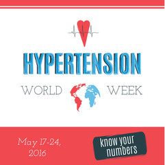 Hypertension Day card