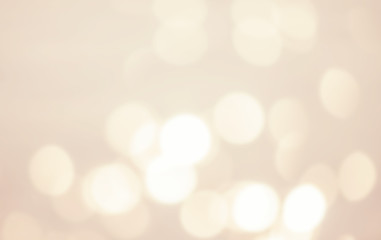 White abstract background with bokeh defocused lights and shadow