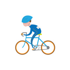 Sport people cycling 2