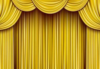 ゴールド カーテン