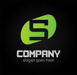Logo number 5 vector design template