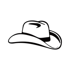 Cowboy Hat Logo Icon