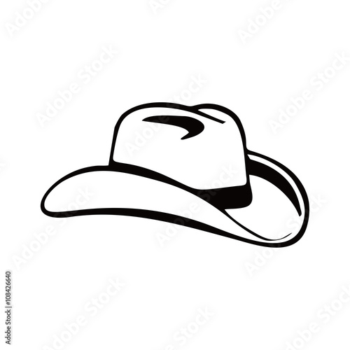 quot cowboy hat logo icon quot stock image and royalty free vector files on fotolia com pic 108426640