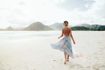 Boho beach style