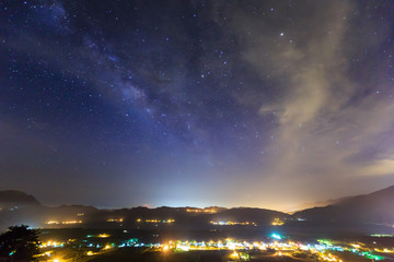 Superb light landscape