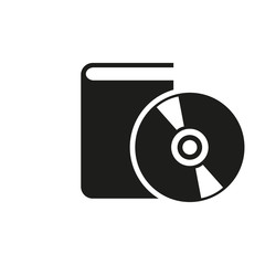 Audiobook icon. vector design. Library symbol. web. graphic. JPG. AI. app. logo. object. flat. image. sign. eps. art. picture