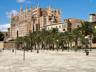 Poster Europese Plekken Mallorca - Palma de Mallorca - La Seu