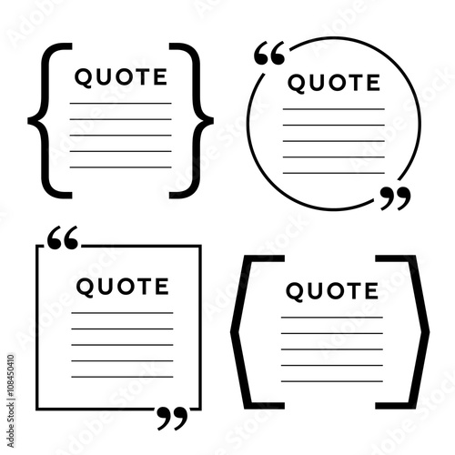 Quote blank template quote bubble empty template circle business quote blank template quote bubble empty template circle business card template paper wajeb Choice Image