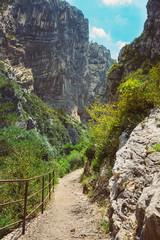 Beautiful trail, path, way, mountain road