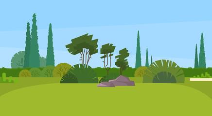 Green Park Forest Outdoor Nature Landscape