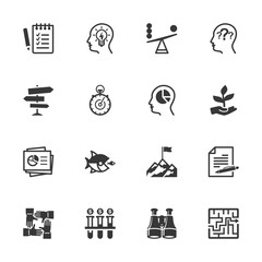 Business Management Icons - Set 3