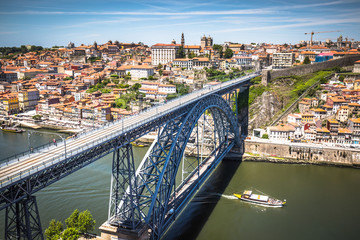 bridge Dom Louis, Porto, Portugal