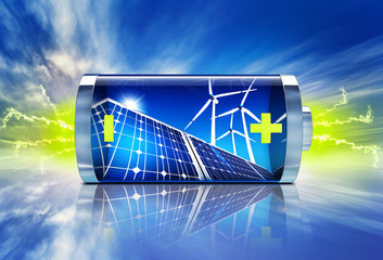 green energy battery