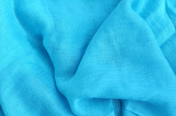 blue scarf texture