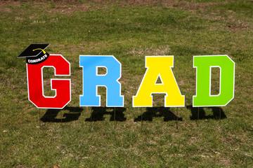 Outdoor Grad Sign