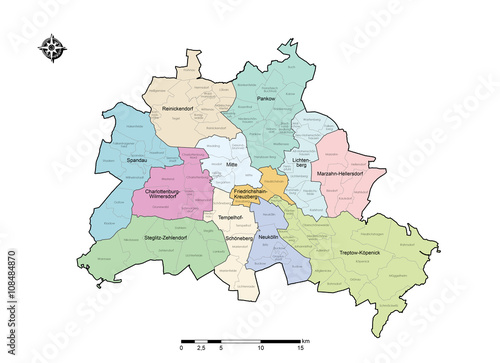 berlin karte Berlin Map   Berlin Karte / Map   Karte