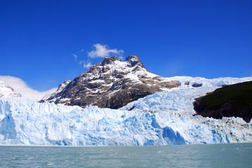 Foto auf Acrylglas Glaciers The Perito Moreno Glacier is a glacier located in the Los Glaciares National Park in the Santa Cruz province, Argentina. It is one of the most important tourist attractions in the Argentine Patagonia