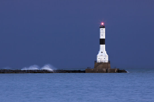 Early Morning at Conneaut Lighthouse