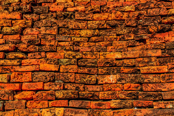 Old brick wall texture background, background pattern