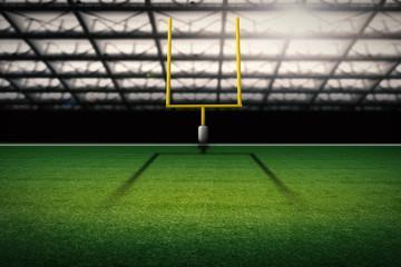american football field goal post