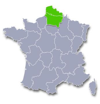 nord pas de calais haut de france région de france