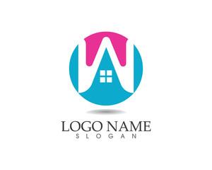 W home logo