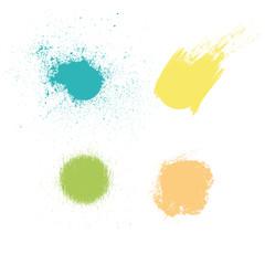 Macchie di colore e vernice