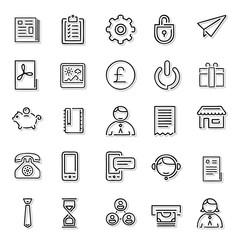 Line Icons Set